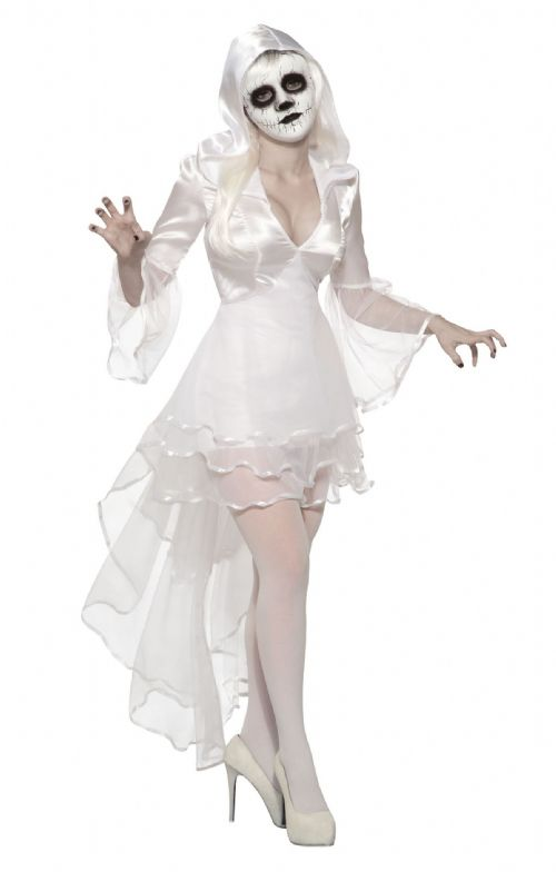 Ladies Banshee Costume Halloween Fancy Dress Outfit